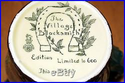 1936 Royal Doulton Jug The Village Blacksmith LTD 353/600 LAST CHANCE