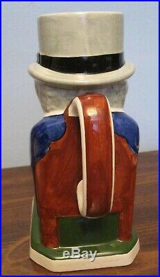 1940 Copeland Spode WINSTON CHURCHILL figural Toby Jug mug by Eric Olsen ENGLAND