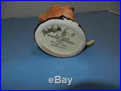 1991 Royal Doulton Character Winston Churchill Toby Jug D6934 Millennuim 2000