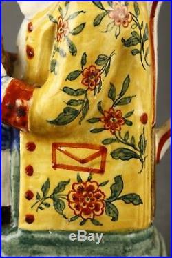 19th Century Delft type Toby Jug