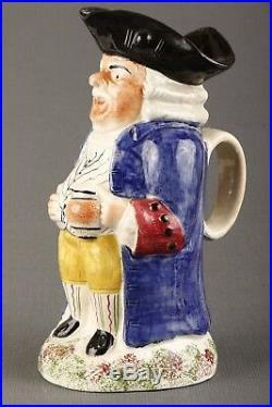 19th Century Portobello Standing Man Toby Jug