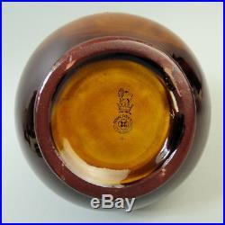 A Royal Doulton Pottery Kingsware He's A Jolly Good Fellow Pottery Whisky Jug