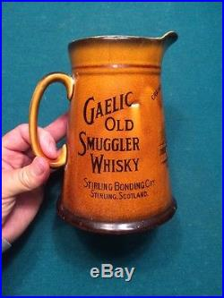 BEAUTIFUL VINTAGE 7 Inch ROYAL DOULTON WHISKEY PITCHER / Mug /Pub Jug. Scotland