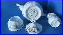 BRAMBLY HEDGE TEA POT MILK JUG & SUGAR BOWL 1st Quality mint Full Sized