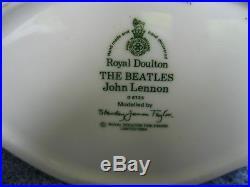 Beatles 1984 Royal Doulton Toby Mug Jug John Lennon England UK MINT $250.00