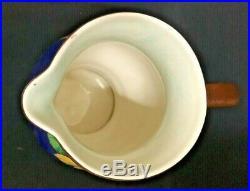 C. 1949 Royal Doulton Large Nasturtium Jug Mottled Backgrund D. 6325 Gd Condition