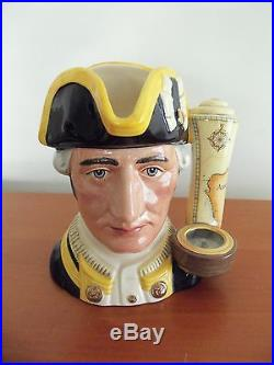 Captain James Cook, Royal Doulton Large Jug, D7077 Limited Edition 198/2500 Mint
