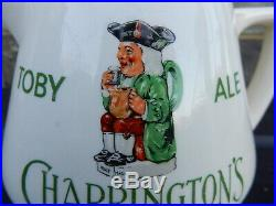 Charringtons Toby ale brewery advertising pub jug Royal Doulton
