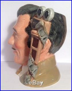 Clark Gable Extremely Rare Royal Doulton Character Jug D6709