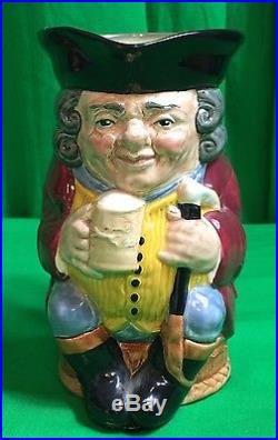 Collectible Royal Doulton Toby Jug Jolly Toby Blue Breeches