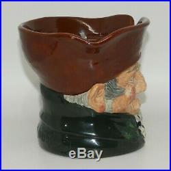 D5844 Royal Doulton Old Charley Tobacco Jar Character Jug derivative RARE