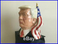 Donald Trump. Toby jug. President. Political. Not. Doulton. Churchill. Figure. Mug. Cup