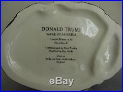 Donald Trump. Toby jug. President. Royalty. USA. Mug. Republician. Political. King
