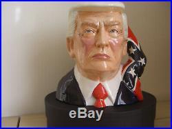 Donald Trump. Toby jug. Prototype. President. Bust. Figure. Not Bush. Not doulton. Mug