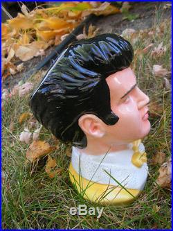ELVIS PRESLEY Figural Jug by ROYAL DOULTON, LE #878/1700 Pieces. NIB 2006