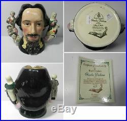 Ec145 Royal Doulton Character Jug Entitled Charles Dickens, D6939, Large 7 #407