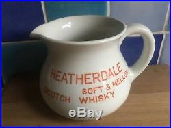 Heatherdale Scotch Whisky Water Pub Jug Pitcher Royal Doulton 1930s RARE