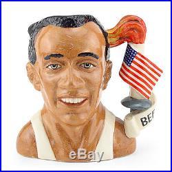 Jesse Owens D7019 Large Royal Doulton Character Jug