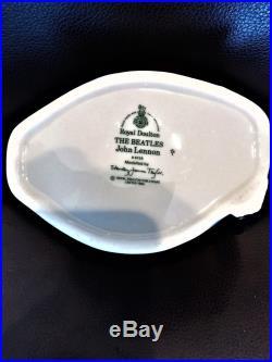 John Lennon Royal Doulton D6725 Odd Toby/jug Mug Rare Blue Discontinued 1984 Le