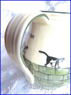Kateroo Jug Royal Doulton Black Cat Henry Souter