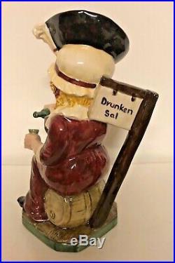 Kevin Francis Toby Jug Drunken Sal 100 ED 1/1 Colorway late 90's