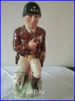 Kevin Francis Toby Mug Jug General George S Patton #50/750