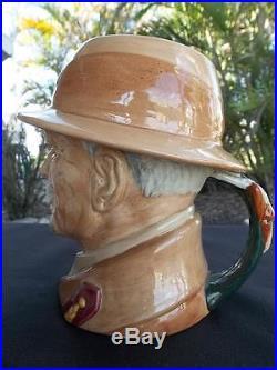 Large Royal Doulton Field Marshal J C Smuts Character Jug Xlnt! Rare