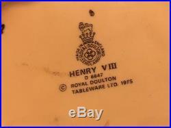 Labor Day SALE- Lot of Royal Doulton Vintage TOBY MUGS/JUGS, Asst. Sizes, Most L