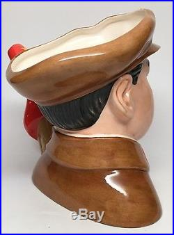Large Royal Doulton Character Jug Chairman Mao Zedong D7288 With COA & Box