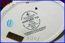 Large Royal Doulton Character Jug Edward V11 D7154 Perfect Rare