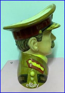 Large Royal Doulton Character Jug General Haig D7231 Limited Very Rare