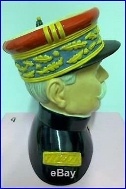 Large Royal Doulton Character Jug Marshal Joffre D7227 Limited Very Rare