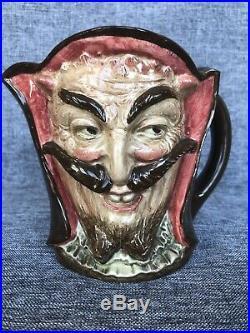 Large Royal Doulton Character Jug Mephistopheles D5757