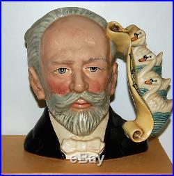 Large Royal Doulton Character Jug Tchaikovsky D7022 Excellent Condition