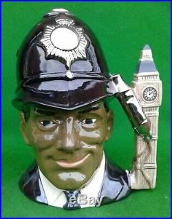 Large Royal Doulton Character Jug The London Bobby Not Produced For Sale