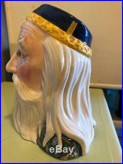 Large Royal Doulton Merlin D7117 Limited Edition Toby Jug