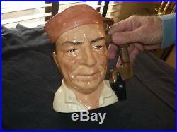 Large Royal Doulton Toby/character Jug/mug Rare Cabinet Maker D7010-signed