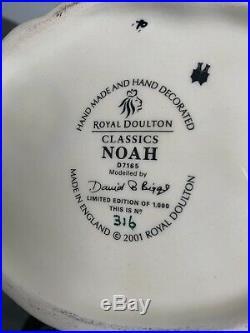 Large Size Noah Limited Edition Doulton Character Jug