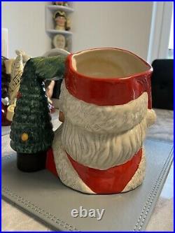 Large Size Santa With Glasses Doulton Character Jug