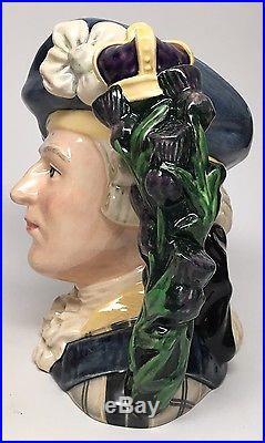 Large Trial Royal Doulton Character Jug Mug Bonnie Prince Charlie D6858