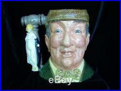 Limited Edition Royal Doulton Character Jug, The Auctioneer, Large, D6838, 1988