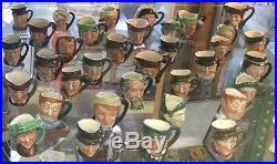 Lot of Royal Doulton Tinies Toby Jugs