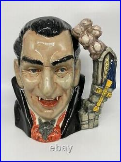 Mib! Royal Doulton 7 Large Toby Character Mug Jug Count Dracula D7053 1997