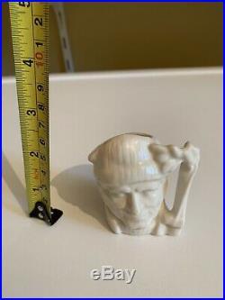 Miniature Royal Doulton lumberjack White Gloss Edition Character Jug