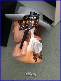 NIB Royal Doulton LARGE Toby Character Jug JOHN WAYNE D7269 Mug of the Year 2007