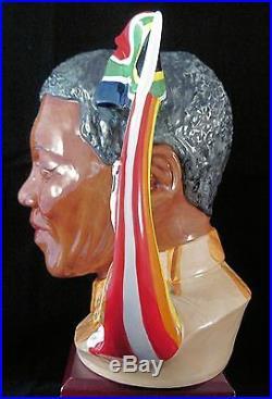 Pascoe & Company Connoisseur Large Character Jug Nelson Mandela