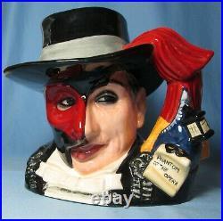 Phantom of Opera D7017 Royal Doulton Character Jug Large 246/2500 EXCELLENT