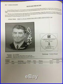President Ronald Reagan Royal Doulton Toby Jug