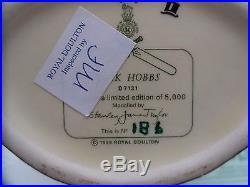 RARE Jack Hobbs D7131 Royal Doulton Quality Small Character Jug