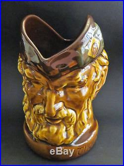 Rare Royal Doulton Kingsware Whisky Water Jug Pitcher Mccallum's Whisky